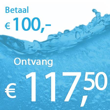 € 117,50 wastegoed