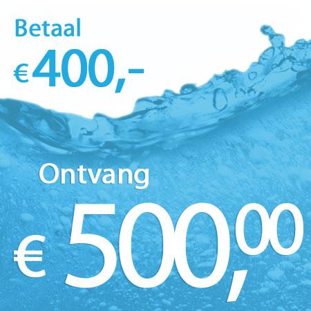 € 500 wastegoed